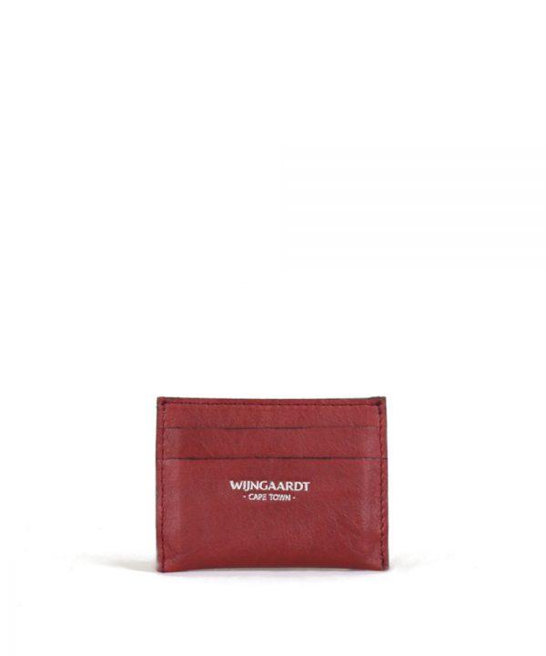 wijngaardt leather card holder